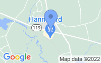 Map of Townsend MA