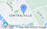Map of Lowell MA