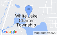 Map of White Lake charter Township MI