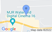 Map of Waterford Township MI
