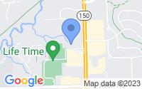 Map of Rochester Hills MI