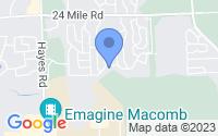 Map of Macomb MI