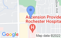 Map of Rochester MI