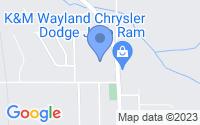 Map of Wayland MI