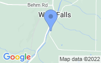 Map of West Falls NY