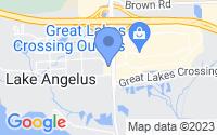 Map of Auburn Hills MI