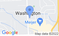 Map of Washington MI