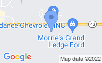 Map of Grand Ledge MI