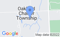 Map of Oakland charter Township MI