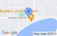 Map of Lake Odessa MI