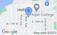 Map of Holland MI