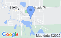 Map of Holly MI