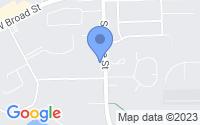 Map of Linden MI