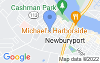 Map of Newburyport MA