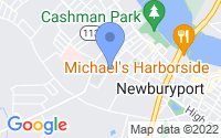 Map of Newburyport MA