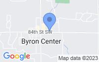 Map of Byron Center MI
