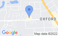 Map of Oxford Charter Township MI