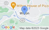 Map of Wilton NH