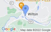Map of Wilton NH