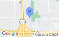 Map of Grand Rapids MI