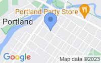 Map of Portland MI