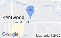 Map of Kentwood MI