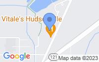 Map of Hudsonville MI