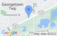 Map of Georgetown Township MI