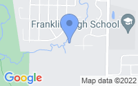 Map of Franklin WI
