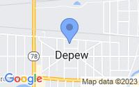 Map of Depew NY