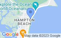 Map of Hampton NH