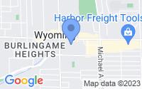 Map of Wyoming MI