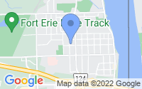 Map of Fort Erie ON
