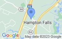 Map of Hampton Falls NH