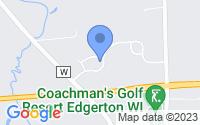 Map of Edgerton WI
