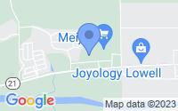 Map of Lowell MI