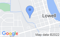 Map of Lowell MI