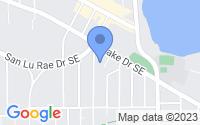 Map of East Grand Rapids MI