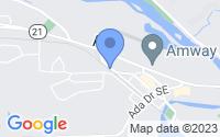 Map of Ada MI