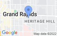 Map of Grand Rapids MI