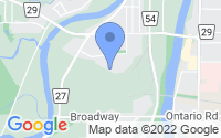 Map of Welland ON