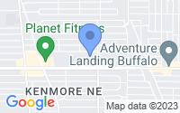 Map of Buffalo NY
