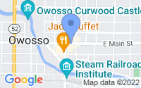 Map of Owosso MI