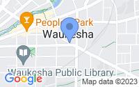 Map of Waukesha WI