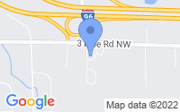 Map of Walker MI