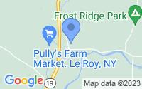 Map of Le Roy NY