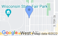 Map of West Allis WI