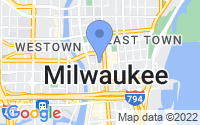 Map of Milwaukee WI
