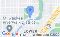 Map of Milwaukee WI