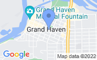 Map of Grand Haven MI